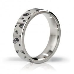 Pierścień erekcyjny polerowany i grawerowany 48mm - Mystim His Ringness Duke