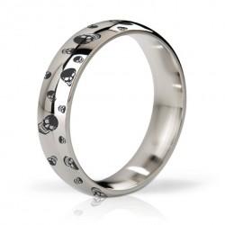 Pierścień erekcyjny polerowany i grawerowany 55mm - Mystim His Ringness Earl