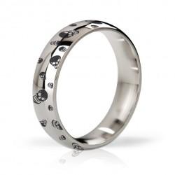 Pierścień erekcyjny polerowany i grawerowany 48mm - Mystim His Ringness Earl