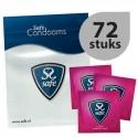 Prezerwatywy wzmocnione - Safe Strong Condoms 72 szt