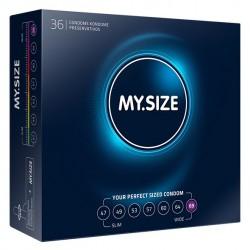 My Size. Prezerwatywy na wymiar - rozmiar 69 - 36 sztuk
