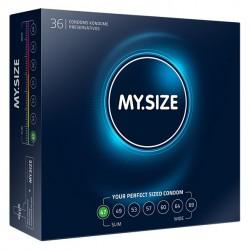 My Size. Prezerwatywy na wymiar - rozmiar 47 - 36 sztuk