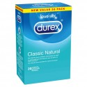 Prezerwatywy - Durex Classic Natural Condoms 20 szt