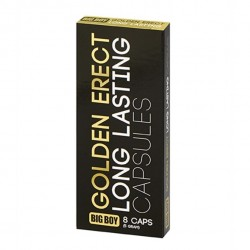 Tabletki poprawiające erekcję - Big Boy Golden Erect Tabs 8 Tabs