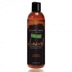 Tester - Intimate Earth Massage Oil Almond 120 ml Tester