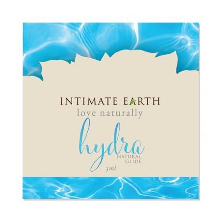 Wodny środek nawilżający - Intimate Earth Hydra Natural Glide Foil 3 ml SASZETKA