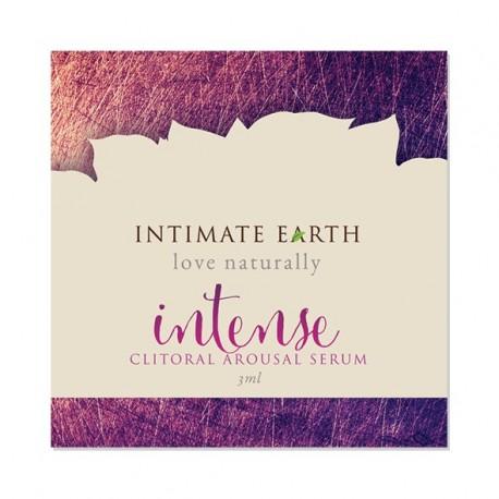 Serum do łechtaczki intensywne - Intimate Earth Clitoral Arousal Serum Intense Foil 3 ml SASZETKA