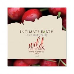 Środek nawilżający - Intimate Earth Oral Pleasure Glide Wild Cherry Foil 3 ml SASZETKA