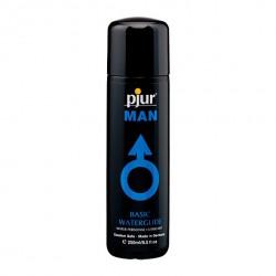 Wodny lubrykant analny tylko dla mężczyzn - Pjur Man Basic Water Glide 250 ml