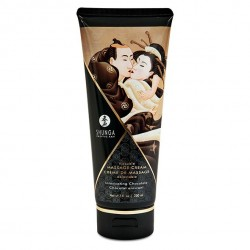 Krem do masażu - Shunga Massage Cream Chocolate 200 ml