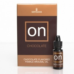 Olejek stymulujący - Sensuva ON Arousal Oil for Her Chocolate 5 ml