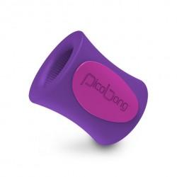 Masturbator zdalnie sterowany - Picobong Remoji Blowhole M-Cup Purple