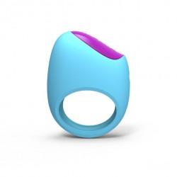 Pierścień na penisa zdalnie sterowany - Picobong Remoji Lifeguard Ring Vibe Blue