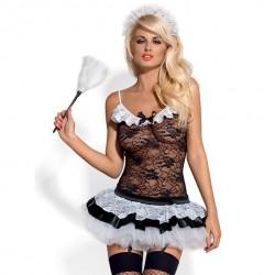 Kostium pokojówka - Obsessive Housemaid Costume S/M