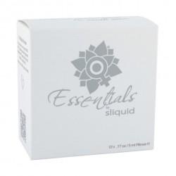 Zestaw żeli nawilżających w saszetkach - Sliquid Essentials Lube Cube 60 ml