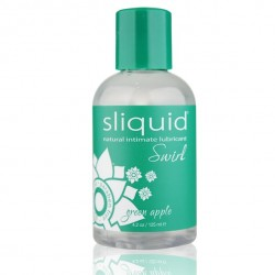Żel nawilżający - Sliquid Naturals Swirl Lubricant Green Apple 125 ml