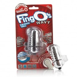 Wibrator na palec - The Screaming O The FingO Wavy Clear