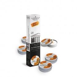 Zestaw pięciu świec do masażu - Petits Joujoux Massage Candle Athens 33 gram
