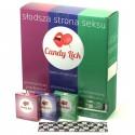 Prezerwatywy Candy Lick zestaw 3x15 sztuk
