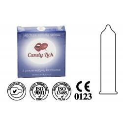Prezerwatywy Candy Lick klasyczne