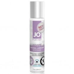 Lubrykant dla wrażliwej skóry - System JO Women Agape Lubricant Cool 30 ml Chłodzący