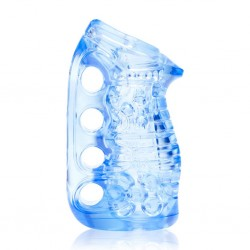 Masturbator - Fleshlight Fleshskins Grip Blue Ice