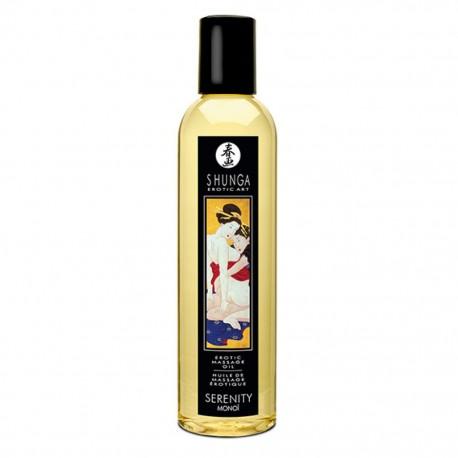 Olejek do masażu - Shunga Massage Oil Serenity Monoi Spokój