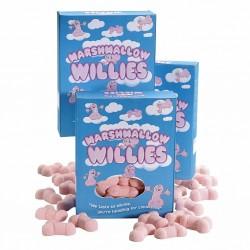 Pianki w kształcie penisów - Marshmallow Willies